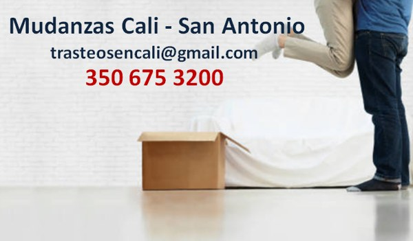 Mudanzas Cali - San Antonio